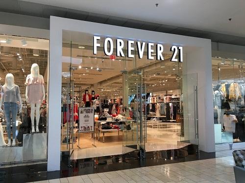 服裝零售商 Forever 21 申請破產