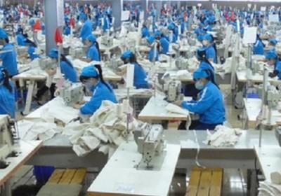 七成紡織品成衣企業削減工作量