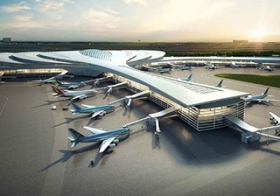 加快隆城國際機場專案一期工程施工進度