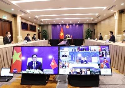 越南政府總理范明政在P4G 2030峰會上提出六項重要措施