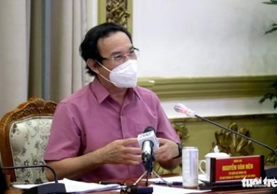 Bí thư Nguyễn Văn Nên: TP.HCM không thể không mở cửa lúc này