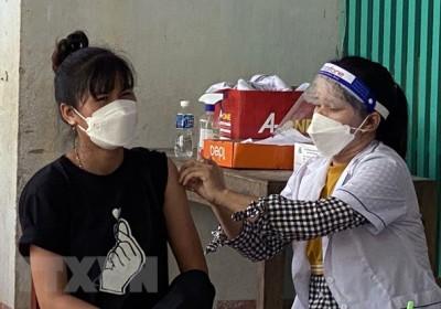 Ninh Thuận tăng tốc tiêm chủng vaccine phòng dịch COVID-19