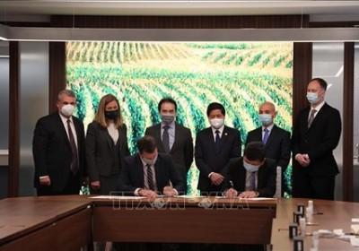 越南與美國加強農業領域合作
