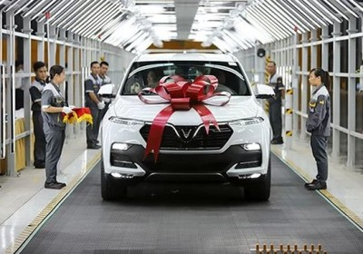 VinFast 首批豪車出廠