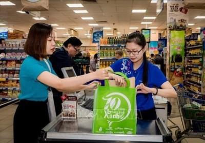 越南力争到2025年各购物中心和超市使用100%环保袋