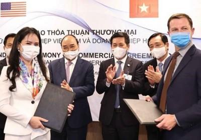 越南T&T 集團與美國夥伴簽署可再生能源領域合作諒解備忘錄